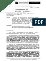 Carta 039 - 2da Observaciones Adquisicion Terreno Minicomplejo Carmen Rosa