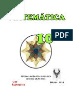 FENIX 2020  10° para Docentes (Con respuestas)