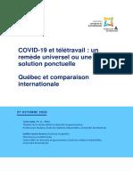 Rapport Teletravail 2020 OBVIA PUB