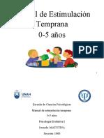 Estimulacion-Temprana PROPUESTAS JUEGOS