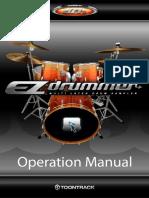 221685 Ezdrummer Manual