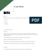 Canales de Aprendizaje, Características.