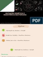 Mutação Genética e Resistência Bacteriana