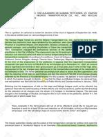 De Guzman vs Visayan Rapid Source; (Digest.ph)
