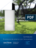 Depliant Rilevatore Esterno SH156AX 2019 Daitem