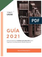 GUÍA de preparación UNAM Bachillerato 2021 COMPLETA