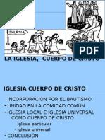 LAIGLESIA,  CUERPO DE CRISTO