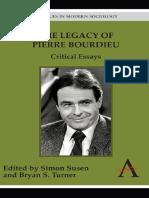 simon-susen-the-legacy-of-pierre-bourdieu-critical-essays