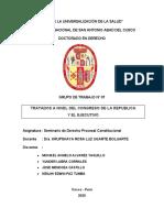 Grupo 7 Tratados a Nivel Del Congreso de La Republica y El Ejecutivo