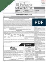 10 de JULIO Publicacion Oficial - Diario Oficial El Peruano