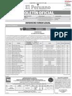 12 de JULIO Publicacion Oficial - Diario Oficial El Peruano