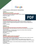 1 Webinars Google