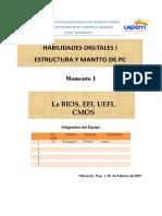 2°A Rodriguez Pinzon Jesus - La BIOS, EFI, UEFI, CMOS