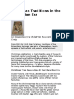 Christmas Traditions in the Edwardian Era