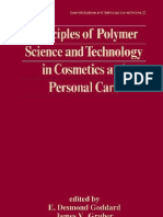 Principles of Polymer Science and Technology in Cosmetics and Personal care