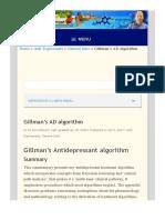 Gillman's AD algorithm - Psychotropical