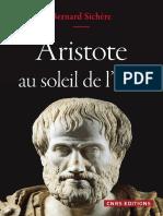 Bernard Sichère - Aristote au soleil de l'être-CNRS ÉDITIONS (2017)