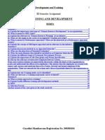 HR DEVELOPMENT AND TRAINING