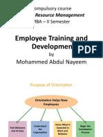 08 Training and Development