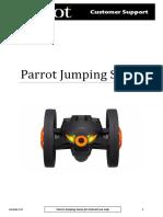 Parrot Jumping Sumo manual