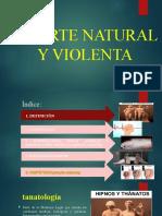 MUERTE NATURAL Y VIOLENTA