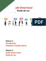 Audit climat social FSJESM
