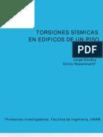 164 TORSION SISMICA EN ED DE UN PISO