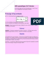CHAPITRE 3 le modèle quantique