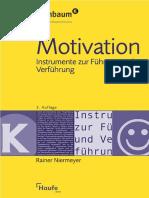 Motivation Instrumente Zur Führung Und Verführung. 2. Auflage by Rainer Niermeyer