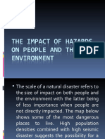 The Impact of Hazards on People and the
