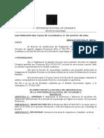 RESOLUCIÓN EDA 069 2014 REGLAMENTO DE SELECCIÓN DE AUXILIARES ESTUDIANTES