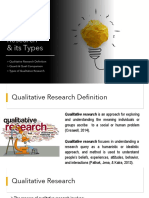 LESSON 1 Qualitative Research and Its Types