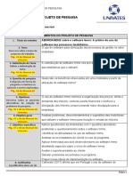ENTREGA FINAL- MATEUS BRESCIANI - Modelo de Projeto de Pesquisa