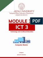 TLE-ICT 3 MODULE 3.1 Lesson 1