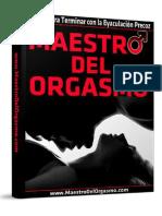 Maestro Del Orgasmo PDF Gratis