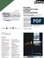 Encore LArchitecture- Encore La Philoso
