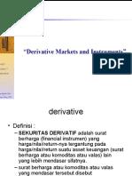 Derivative Market Instrumen