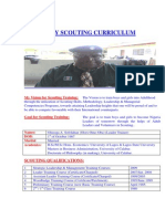 SCOUT ASSOCIATION OF NIGERIA _MY SCOUTING CURRICULUM_