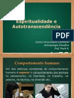 Espiritualidade e autotranscendencia