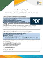 Guía componente práctico - Fase 3 - Componente práctico - Diagnóstico Psicosocial en el contexto educativo.