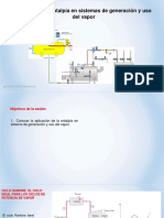 2. Análisis de la entalpía en sistemas de generación y uso del vapor