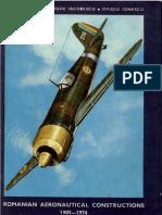 Military Publishing House - Romanian Aeronautical Constructions 1905-1974