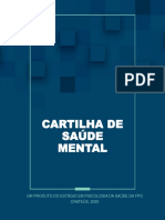 Cartilha de saúde mental