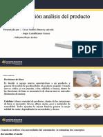 Analisis del producto comprimido