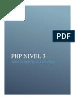 GUIA PHP NIVEL 3