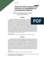 Especies Nativas del Matorral Espinoso Noreste Mexicano Con Posibilidades de Aprovechamiento Industrial