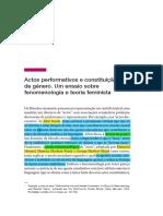 Judith-Butler-performance de genero -p.69-87