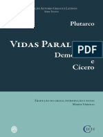 Plutarco - Vidas Paralelas - Demóstenes e Cícero