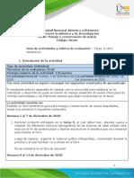 Guia de actividades y Rúbrica de evaluación - Tarea 6 - Libro electrónico
