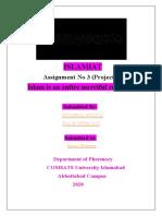 Islamiyat Assignment no 3 FINALL